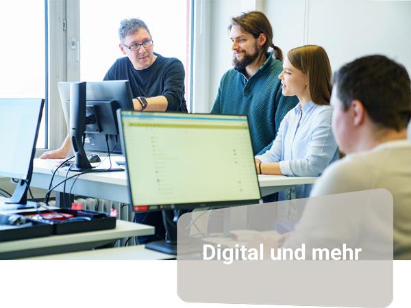 Unser Trainingsangebot umfasst unter anderem den Bereich Digitales.