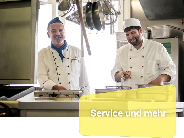 Unser Trainingsangebot umfasst unter anderem den Bereich Service.